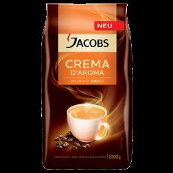 Jacobs Crema d'Aroma kaffebønner 1000g