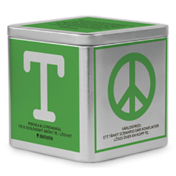 Johan & Nyström T-Te Persika & Citrongräs ekologiskt grönt te i løs vægt 175g