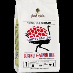 johan & nyström Burundi Gaharo Hill Double Fermentation kaffebønner 250g