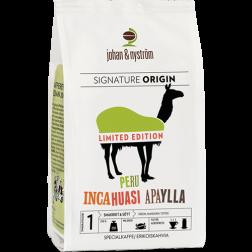 johan & nyström Peru Incahuasi Apaylla kaffebønner 250g