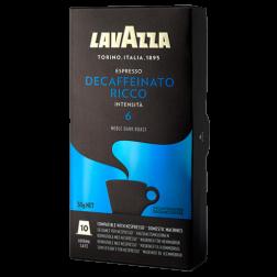 Lavazza Decaffeinato Ricco Nespresso kaffekapsler 10st
