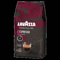 Lavazza Gran Crema kaffebønner 1000g