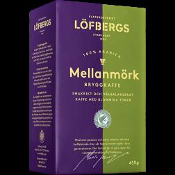 Löfbergs Lila Mellanmörk formalet kaffe 450g