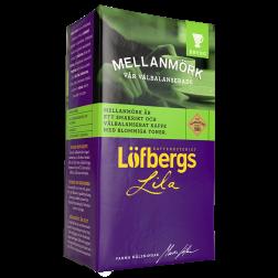 Löfbergs Lila Mellanmörk formalet kaffe 500g