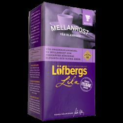 Löfbergs Lila Mellanrost formalet kaffe 500g