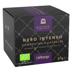 Löfbergs Lila Nero Intenso Nespresso kaffekapsler 10st