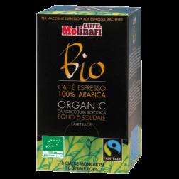 Molinari Bio E.S.E kaffepods 18st