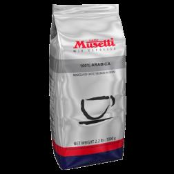 Musetti Espresso 100% Arabica kaffebønner 1000g