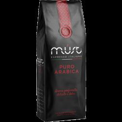 Must Puro Arabica kaffebønner 1000g