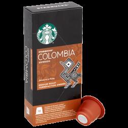 Starbucks Colombia Espresso kaffekapsler til Nespresso 10st