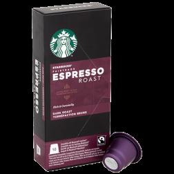 Starbucks Espresso Roast kaffekapsler til Nespresso 10st