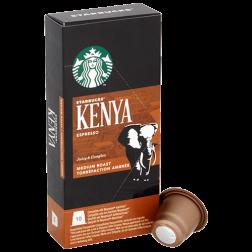 Starbucks Kenya Espresso kaffekapsler til Nespresso 10st