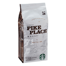 Starbucks Coffee Pike Place Roast kaffebønner 250g