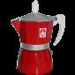 Caffè Bonini Rød Espressokande 3 kopper